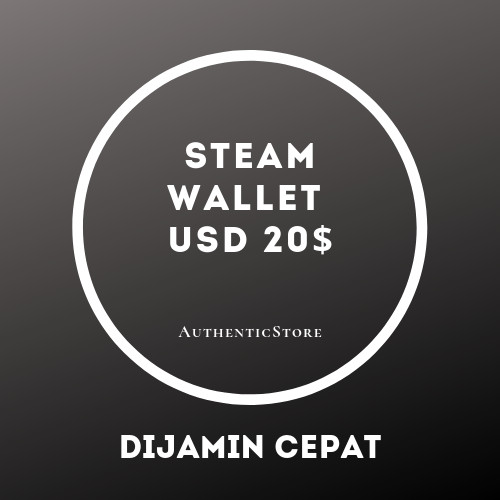 Steam Wallet USD $20