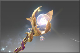 Golden Ice Blossom (Immortal Crystal Maiden)
