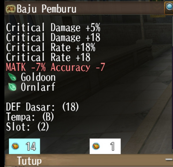 ARMOR 2 SLOT