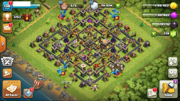 TH11 Level 138 King 16 Queen 31 Warden 10