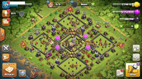 TH11 Good Level 139 King 15 Queen 36 Warden 8
