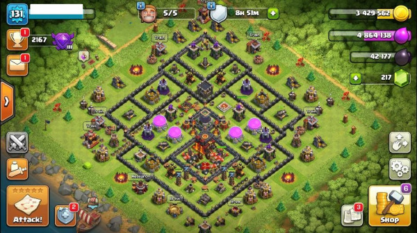 TH10 Level 131 King 14 Queen 13