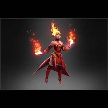 Inscribed Fiery Soul Of The Slayer (Arcana Lina)