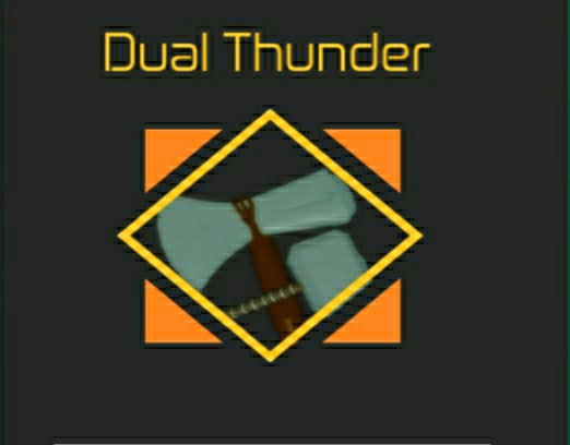 Dual Thunder (Unobtainable) | Heroes Online