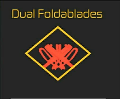 Dual Foldablades | Heroes Online