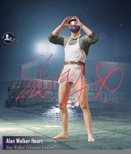 Emote Alan Walker Heart