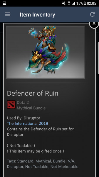 Defender of Ruin (Disruptor Set)