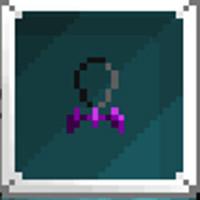 Cursed Spirit Pendant - purple