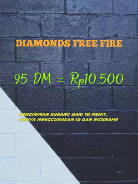 95 DM  FREE FIRE