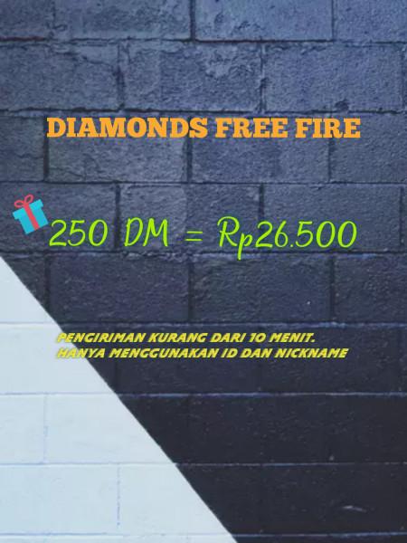 250 DM Free Fire