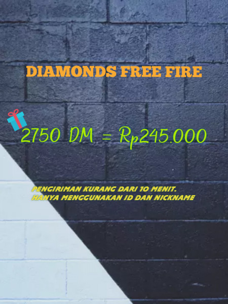 2750 DM Free Fire