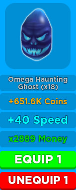 OMEGA HAUNTING GHOST