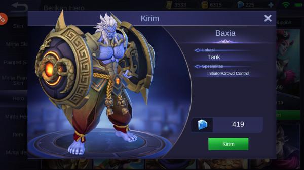 Baxia (Tank)
