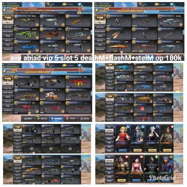 Akun game crisis action3M