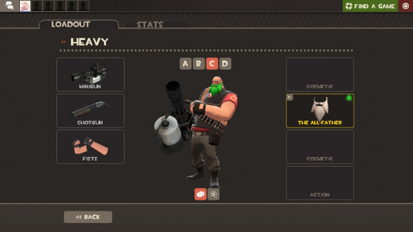 The All-Father PAINTED GREEN LIME -Team Fortress 2