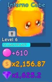 Inferno Cube (Bubble Gum Simulator)