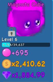 Magenta Cube (Bubble Gum Simulator)