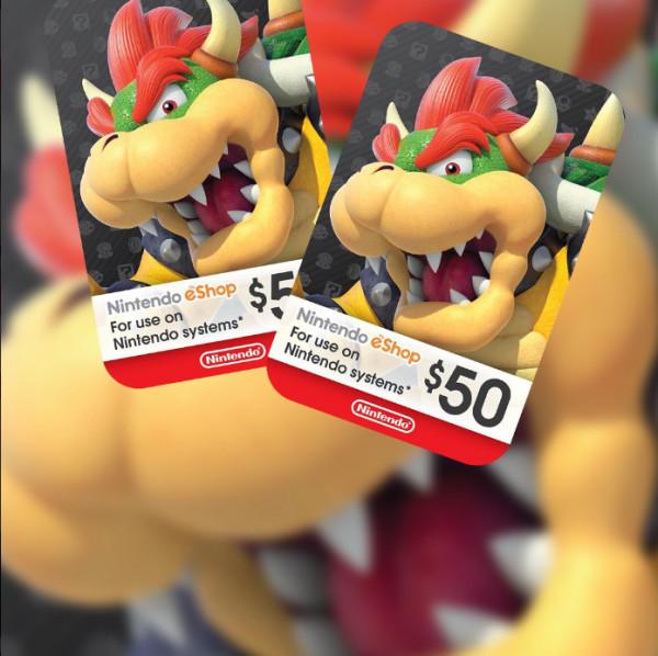 Nintendo eShop $50 (USD)