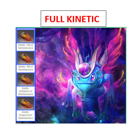 FULL KINETIC Reminiscence of Dreams (Puck Set)