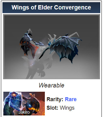 Wings of Elder Convergence (Jakiro)