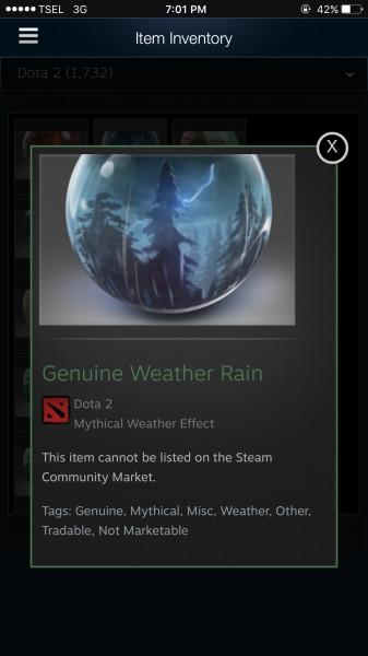 Genuine Weather Rain (Weather)