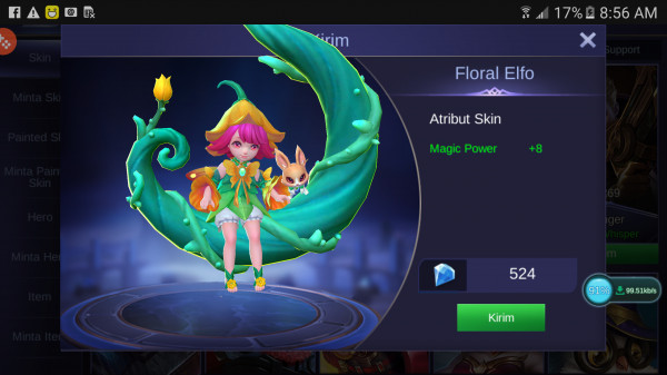 Floral Elfo (Special Skin Chang'e)