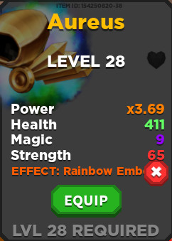 Dominus Aureus + Rainbow effect | Treasure Quest