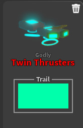 Twin Thrusters (Godly Board) Ghost Simulator
