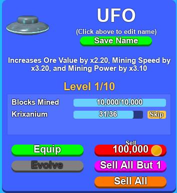 Ufo Pet Mining Simulator