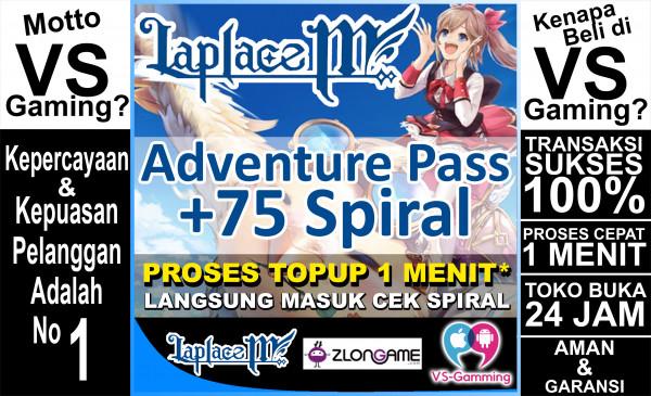 Adventure Pass + 75 Spiral