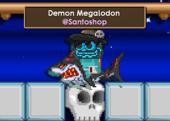 Demon Megalodon (Bonus)