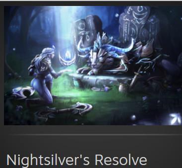 Nightsilver's Resolve  (Luna Set)