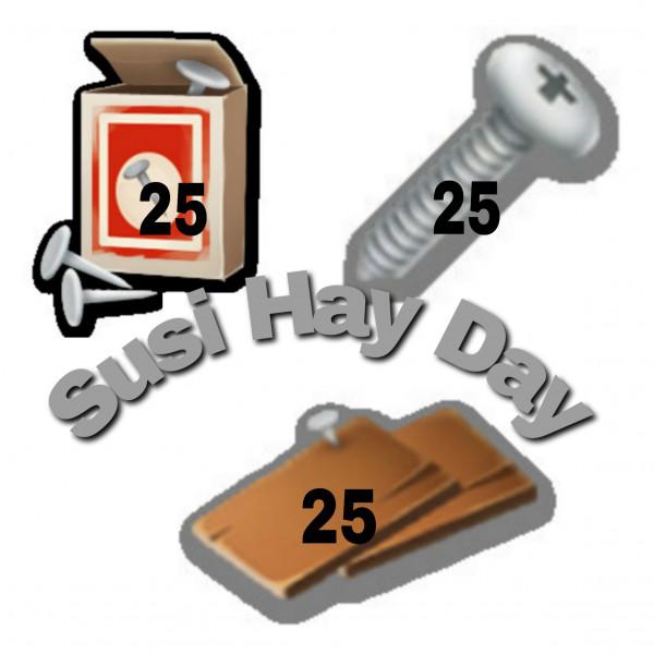 UPGRADE SILO. 25PAKU + 25SKRUP + 25BILAHKAYU