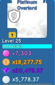 Platinum Overlord (Bubble Gum Simulator)