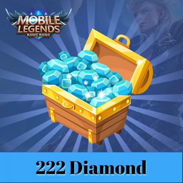 Topup 222 diamond