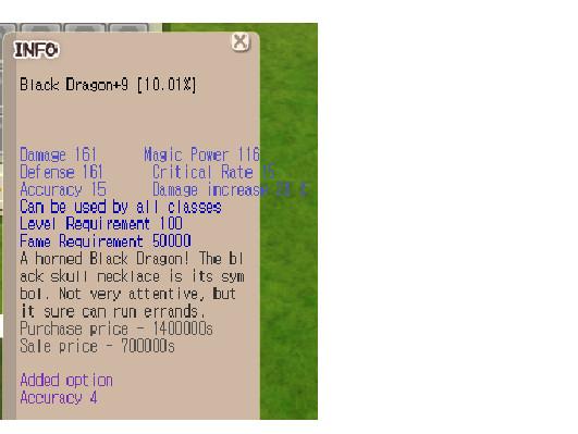 (Black Dragon Egg) Black Dragon +9