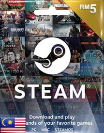 Steamwallet RM5
