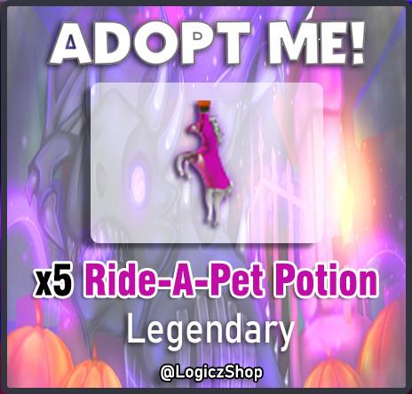 x5 Ride a Potion - Adopt Me