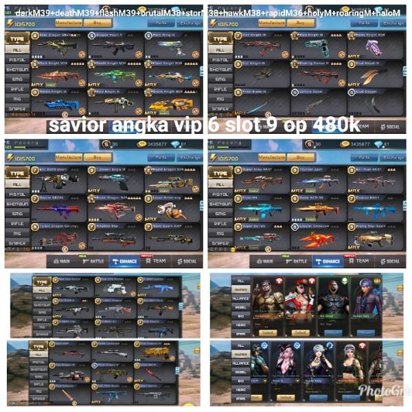 Akun game crisis action 3M39