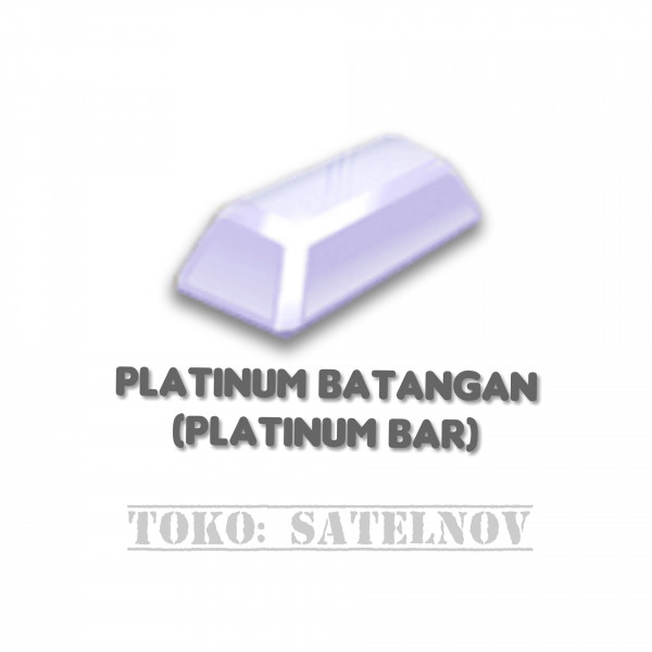 Platinum Batangan (Platinum Bar)