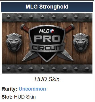 MLG Stronghold  (HUD Skin)