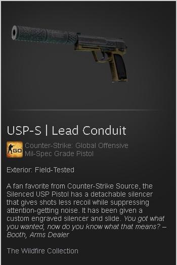 USP-S | Lead Conduit