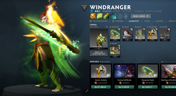 WINDRANGER FULL SET