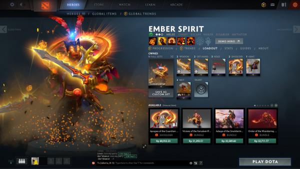EMBER SPIRIT FULL SET
