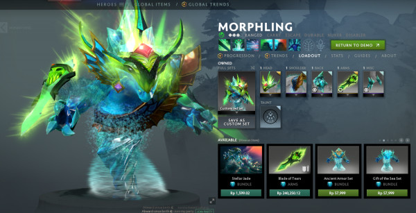 MORPHLING FULL SET
