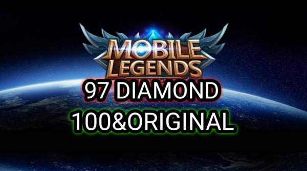 97 DIAMOND Mobile Legends