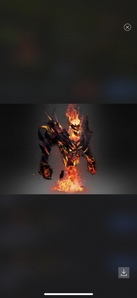 Exalted Demon Eater (Arcana Shadow Fiend)