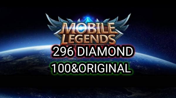 296 DIAMOND Mobile Legends