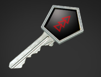 Danger Zone Case Key