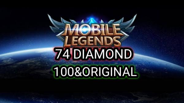 74 DIAMOND Mobile Legends
